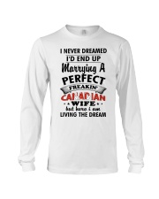 Perfect Freakin' Canadian Wife Long Sleeve Tee tile