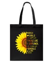March Girl Tote Bag thumbnail