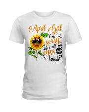 April Girl Ladies T-Shirt thumbnail