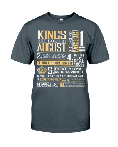 Kings Are Born In August
