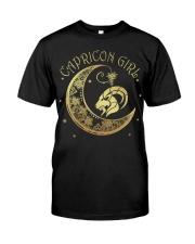 Capricorn Girl Classic T-Shirt front