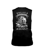 August Man - Limited Edition Sleeveless Tee back