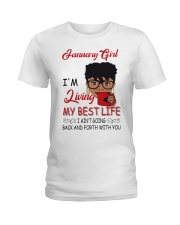 January Girl Ladies T-Shirt thumbnail
