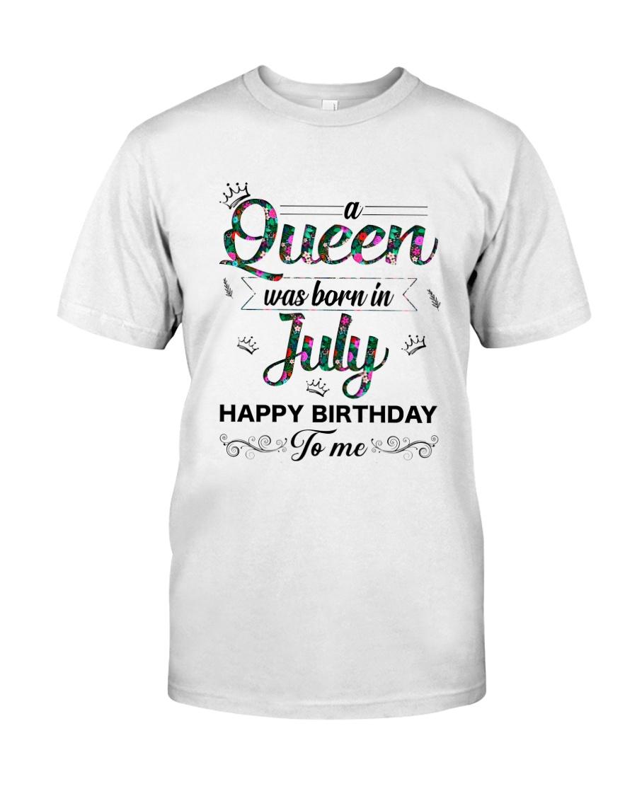 July Queen Classic T-Shirt
