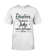July Queen Classic T-Shirt front
