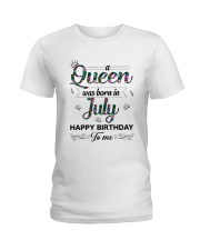 July Queen Ladies T-Shirt thumbnail