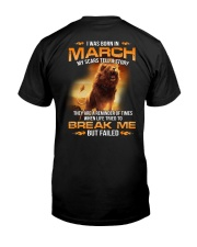 Men March Classic T-Shirt back