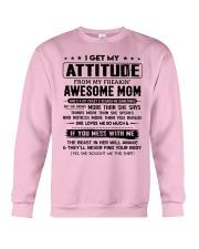 My Freakin' Awesome Mom Crewneck Sweatshirt thumbnail