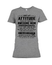 My Freakin' Awesome Mom Premium Fit Ladies Tee thumbnail