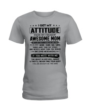 My Freakin' Awesome Mom Ladies T-Shirt thumbnail