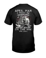 April Man - Special Edition Classic T-Shirt back
