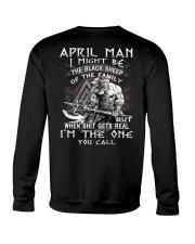 April Man - Special Edition Crewneck Sweatshirt back
