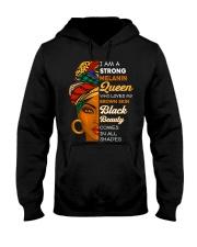 Melanin Queen Hooded Sweatshirt thumbnail