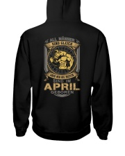April Men Hooded Sweatshirt thumbnail