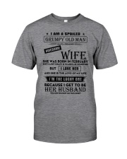 I Am A Spoiled Grumpy Old Man Classic T-Shirt front