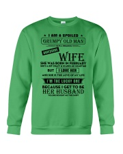 I Am A Spoiled Grumpy Old Man Crewneck Sweatshirt thumbnail
