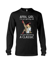 April Girl - Special Edition Long Sleeve Tee front