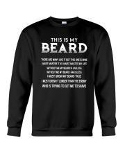 This Is My Beard Crewneck Sweatshirt thumbnail