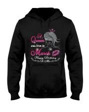 QUEEN MARCH Hooded Sweatshirt thumbnail