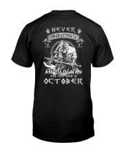 October Men - Special Edition Classic T-Shirt back