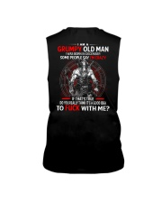 I Am A Grumpy Old Man Sleeveless Tee thumbnail
