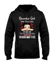 November  Hooded Sweatshirt thumbnail