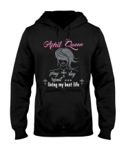 April Queen Hooded Sweatshirt tile