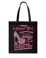 August Girl Tote Bag thumbnail