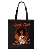 April Girl Tote Bag thumbnail