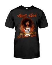 April Girl Classic T-Shirt front