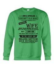 I Am A Spoiled Grumpy Old Man Crewneck Sweatshirt thumbnail