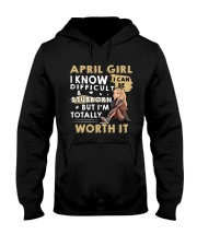 April Girl Hooded Sweatshirt thumbnail
