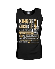 Kings Are Born In August  Unisex Tank thumbnail