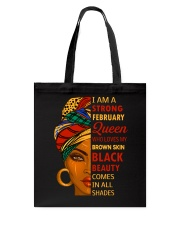 February Queen Tote Bag thumbnail