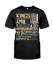 April King Classic T-Shirt front