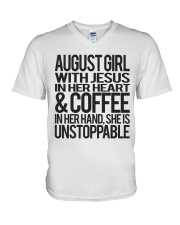 August Girl - Special Edition Classic V-Neck T-Shirt thumbnail