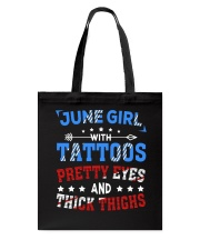 Girl June Tote Bag thumbnail