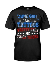 Girl June Classic T-Shirt front