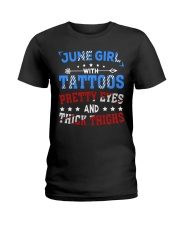 Girl June Ladies T-Shirt thumbnail