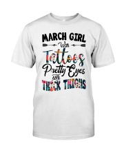 MARCH GIRL Classic T-Shirt front