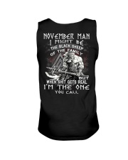 November Man - Special Edition Unisex Tank thumbnail