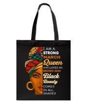 March Queen Tote Bag thumbnail