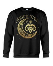 Aries Girl Crewneck Sweatshirt thumbnail