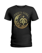Aries Girl Ladies T-Shirt tile