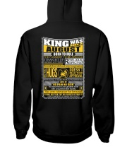 August  King - Limited Edition Hooded Sweatshirt thumbnail