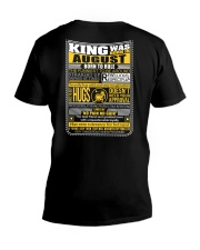 August  King - Limited Edition V-Neck T-Shirt thumbnail