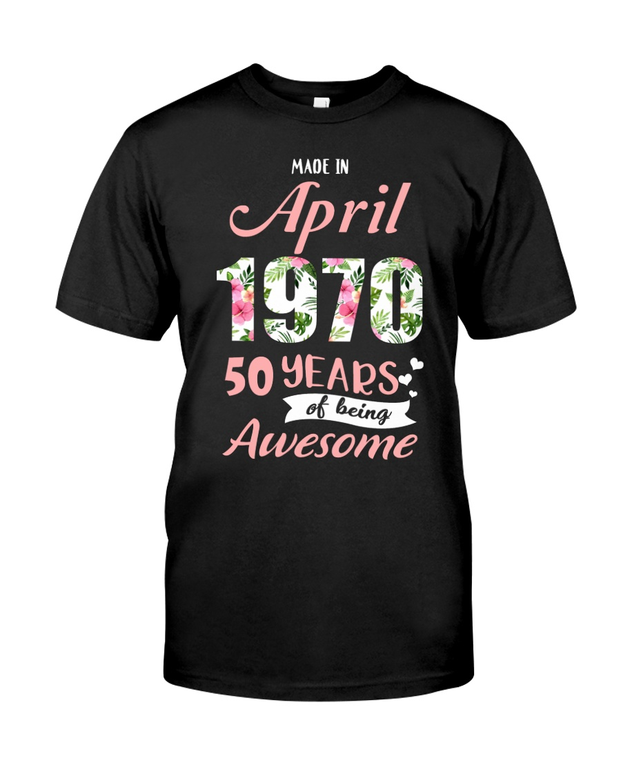 April Girl  Classic T-Shirt