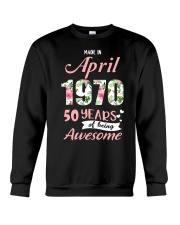 April Girl  Crewneck Sweatshirt thumbnail