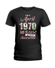 April Girl  Ladies T-Shirt thumbnail