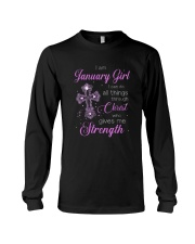January Girl - Special Edition Long Sleeve Tee thumbnail